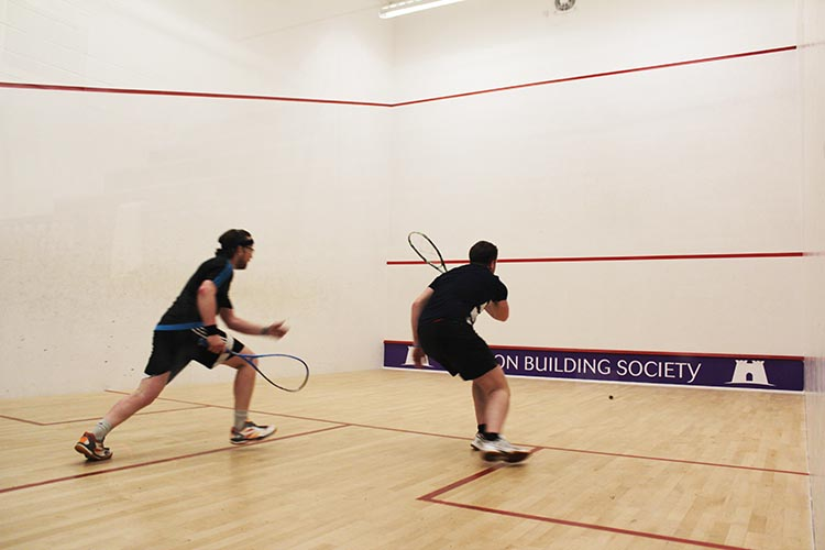 Sandylands Sports Centre, Skipton, squash & racketball