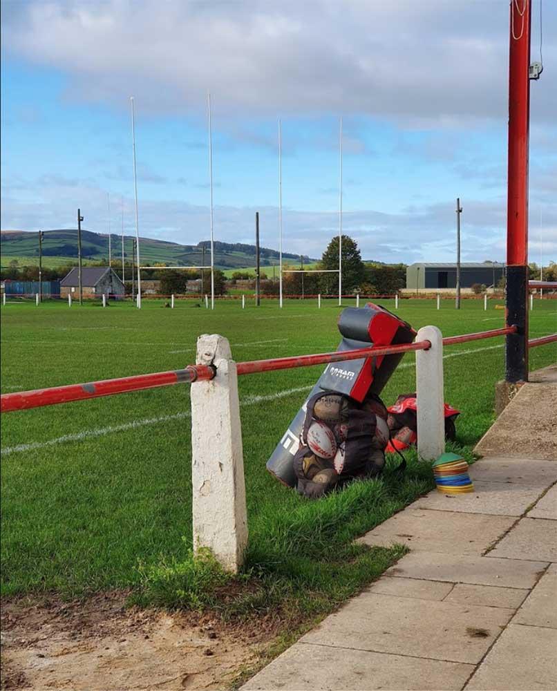 Sandylands Sports Centre, Skipton, rugby