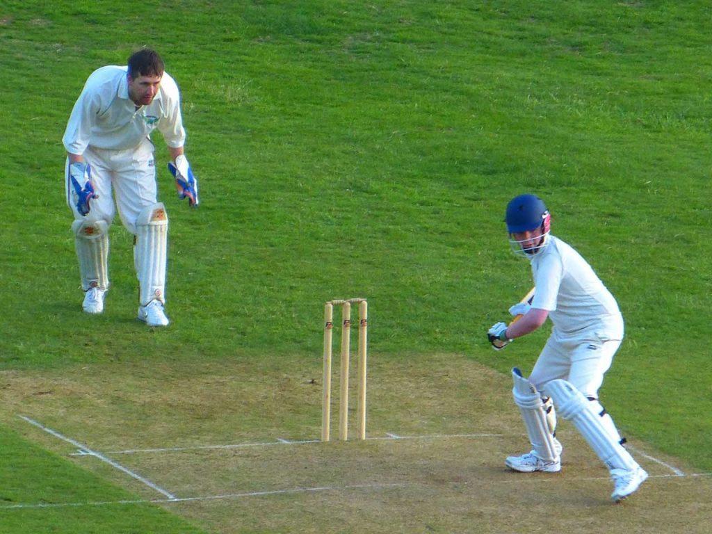 Sandylands Sports Centre, Skipton, cricket
