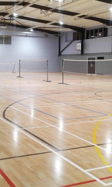 Sandylands sports centre, main hall